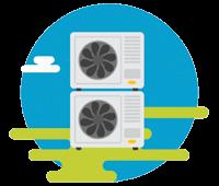 Instalaciones de calefacción y refrigeración por aerotermia