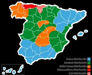 Distribuidoras eléctricas de España por zonas