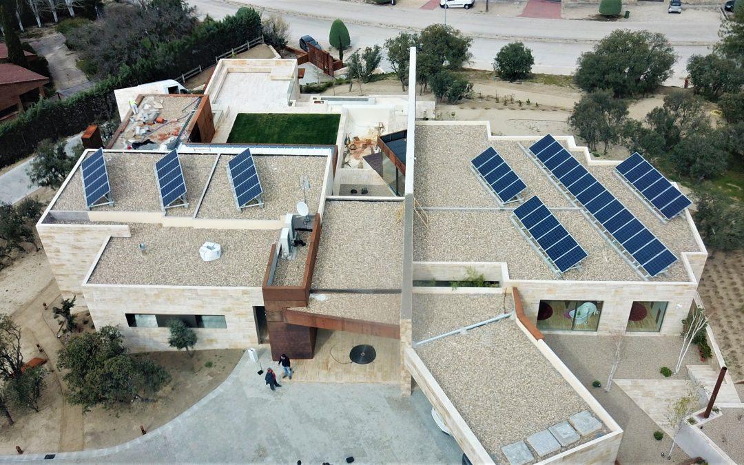 Paneles Solares Las Rozas